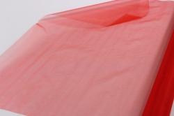 упаковочный материал органза, 70см х 9м (красный 1005)