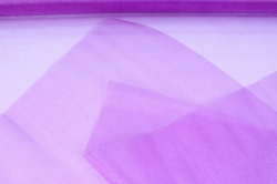 упаковочный материал органза - снег, 70см х 9м (фиолетовый 1034)