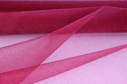 упаковочный материал органза - снег, 70см х 9м (малиновый 1002)