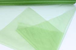 упаковочный материал органза - снег, 70см х 9м (оливковый 1015)