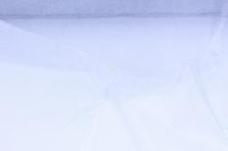 упаковочный материал органза - снег, 70см х 9м (серебро 1018)