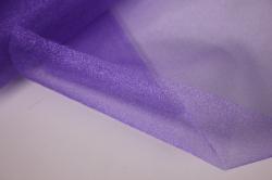 упаковочный материал органза - снег, 70см х 9м (сиреневый 1035)