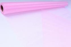 упаковочный материал органза - снег, 70см х 9м (светло-розовый 1028)