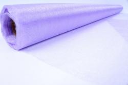 Упаковочный материал Органза - снег, 70см х 9м (светло-сиреневый 1033)