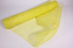 """Упаковочный материал сетка """"Акцент"""" 54 см x 5,5 м (белый/лимонный LM-110)"""