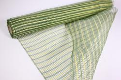 """Упаковочный материал сетка """"Акцент"""" 54 см x 5,5 м (желтый/светло-зеленый LM-20)"""