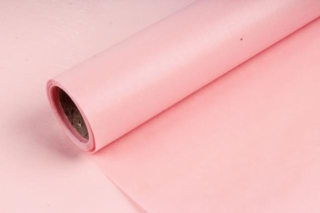 Упаковочный материал Тишью, 58 см х 10 м, чайная роза 6707  М