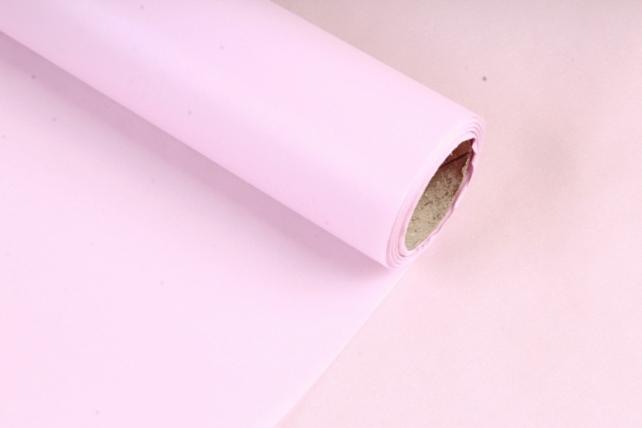 Упаковочный материал Тишью, 58 см х 10 м, светло-розовый 6684  М