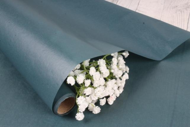 Упаковочный материал Тишью, 58 см х 10 м, зеленый 7582М