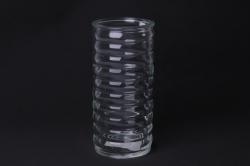 Ваза  92-007 прозрачная  Н=19,5 см