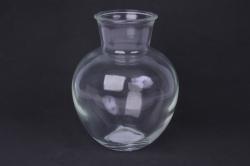 Ваза Белла 92-001 прозрачная Н=19,5 см