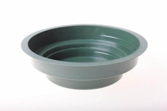 Ваза Чаша Джуниор (3 на 12 см) зеленая