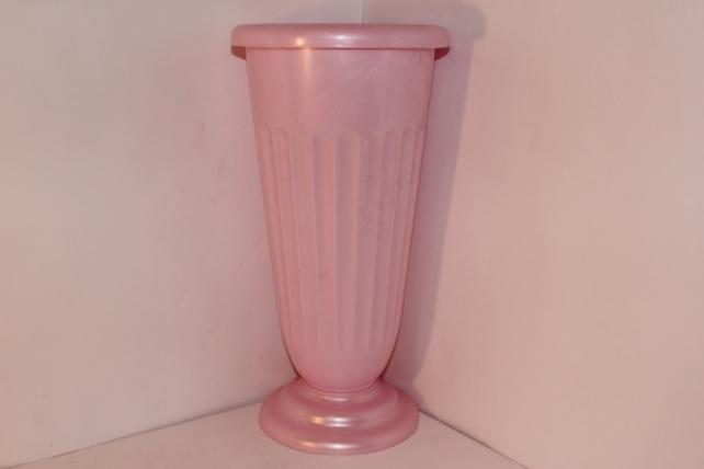 Ваза декоративная Розовая H44 D22