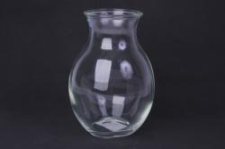 Ваза Доника 92-003-1 прозрачная Н=19,5 см