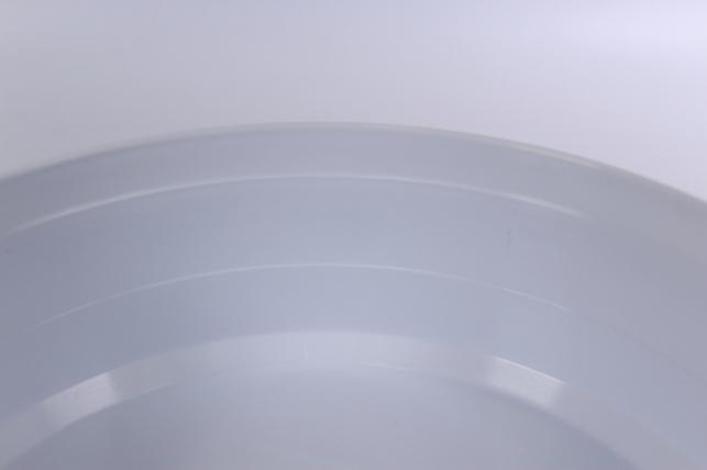 ваза - поддон круглый под оазис - белый (код в25)