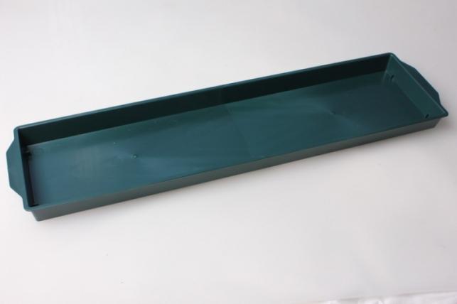 Ваза поддон под два кирпича 48х11х1,8 (зеленый)