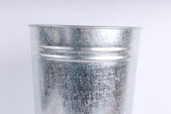 Вазон металлический 11л без ручек