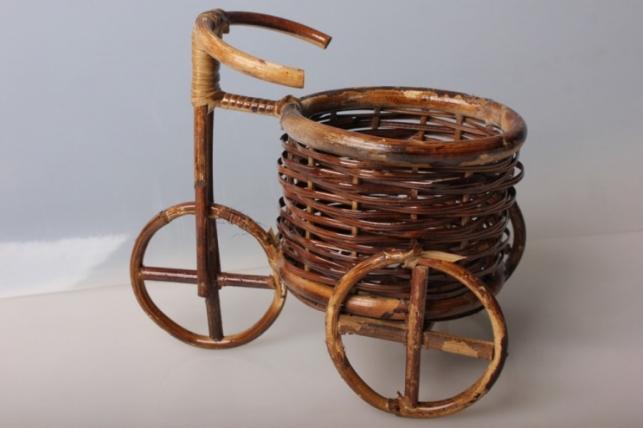 Велосипед - кашпо декоративное