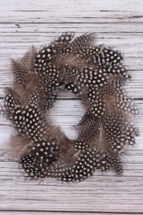 Венок из перьев натуральный  26М2022