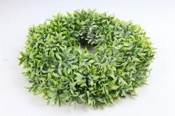 Венок из травы зелёный  O-028F