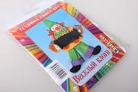 Веселый клоун вставка (готовый набор для квиллинга) 1951