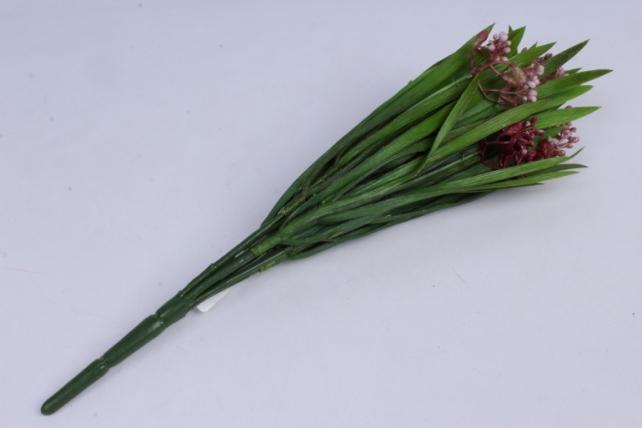 ветка декоративная бордо h=33cm