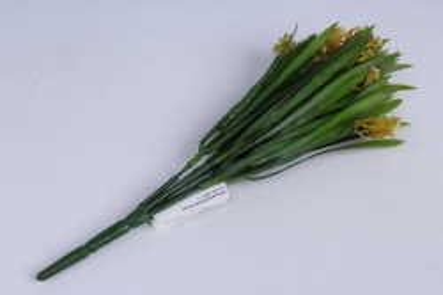 ветка декоративная желтая h=33cm