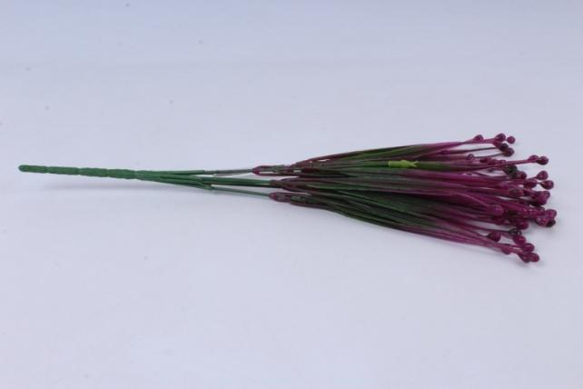 ветка декоративная малиновая h=40cm