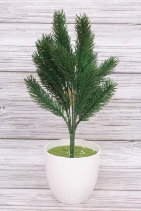 Ветка Ели зелёной 35 см
