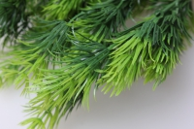 ветка еловая зелено/салатовая 30см 1260 - искусственные растения