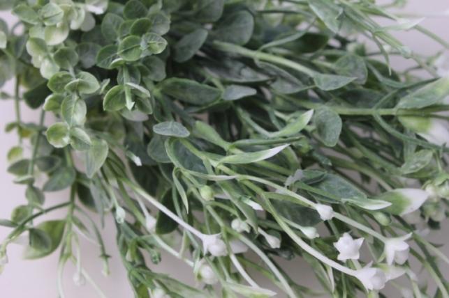 ветка с белыми ягодками gaр50 - искусственные растения