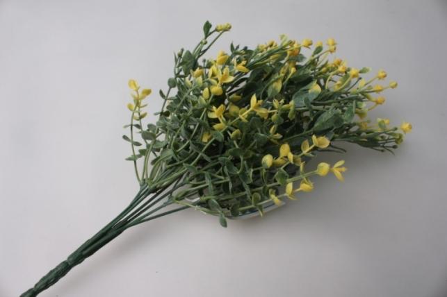 ветка с желтыми ягодками gaр48 - искусственные растения
