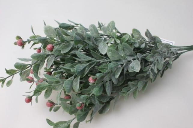 ветка с красными ягодами - искусственные растения