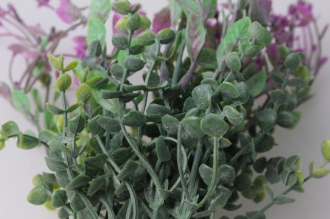 ветка с малиновыми ягодками gaр51 - искусственные растения