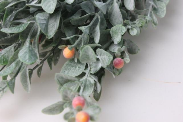 ветка с персиковыми ягодами  gahy156 - искусственные растения