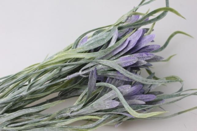 ветка сиренево/салатовая - искусственные растения
