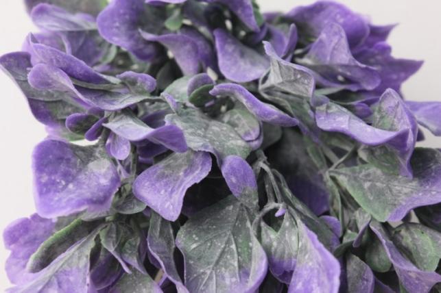 ветка зелено/сиреневая - искусственные растения