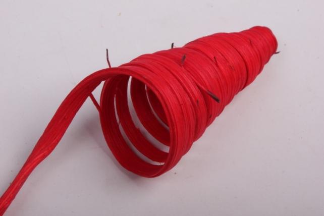 ветки конус (ротанг) красные (6шт в уп)