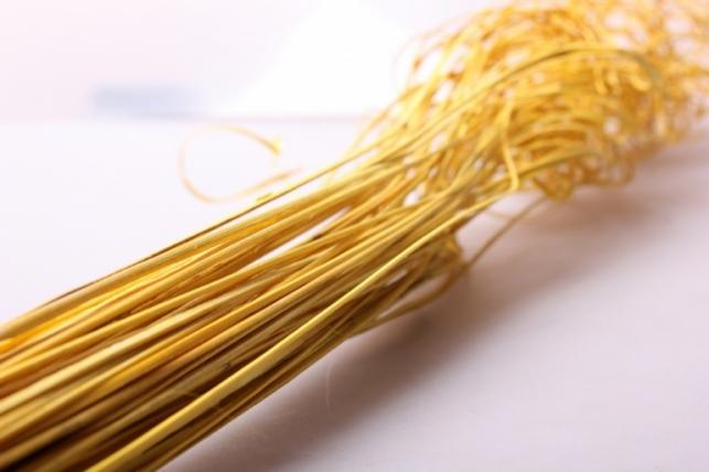 ветки (тинг-тинг) 100гр, 65см цвет желтый