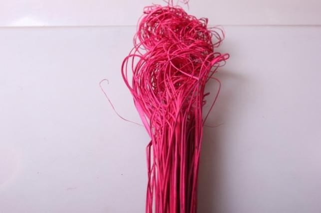 ветки (тинг-тинг) 100гр, 65см цвет красный