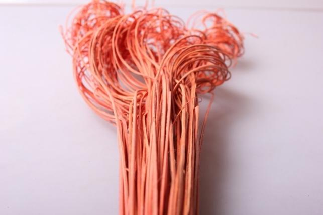 ветки (тинг-тинг) 100гр, 65см цвет оранжевый