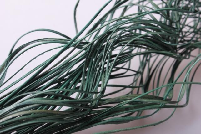 ветки (тинг-тинг) 100гр, 65см цвет темно-зеленый