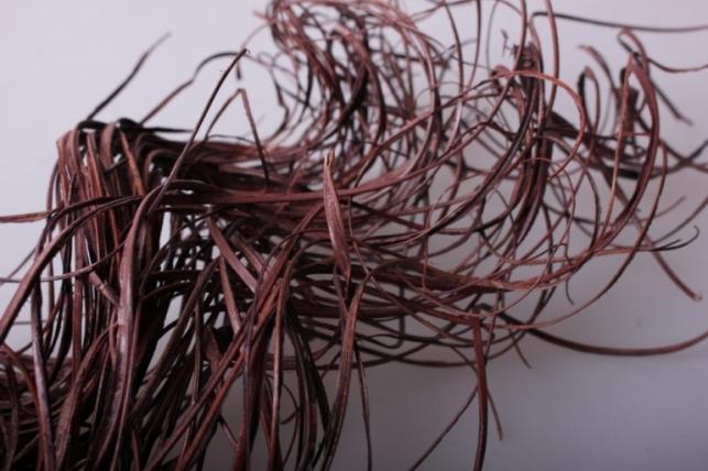 ветки (тинг-тинг) 100гр, 65см цветов коричневый