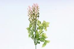 Веточка черёмухи с декором розовая   LIU 454