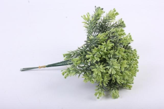 Веточка зелёная 17см (6шт в уп)  AVA6  9742