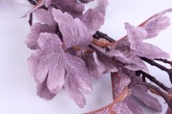 веточка с листиками розовая 50см  2831 k7g037a