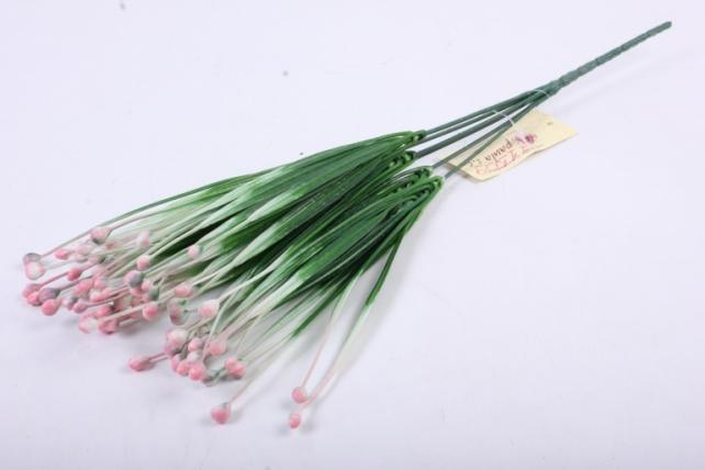 Веточка с розовыми ягодами 30 см GA7B0022