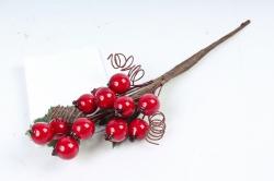Веточка с ягодками Новый год     TY12-3433