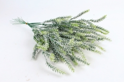 Веточка травы снежная (12шт в уп) AVA11  9797