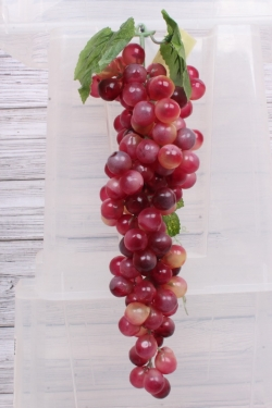Виноград Лидия розовый №7. 36см